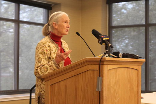 Jane Goodall Salt Lake City