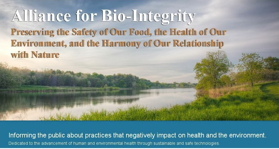Alliance For Bio-Integrity